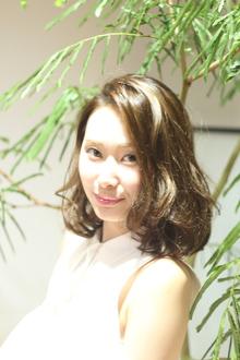 大人ボブ|Calm Hair 阪急淡路店のヘアスタイル