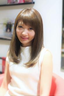 ナチュラル内巻き|Calm Hair 阪急淡路店のヘアスタイル