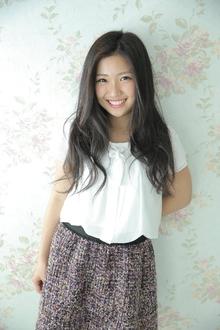 ゆるふわカール|Calm Hair 阪急淡路店のヘアスタイル
