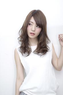 ゆるふわセミロング|Calm Hair 阪急淡路店のヘアスタイル