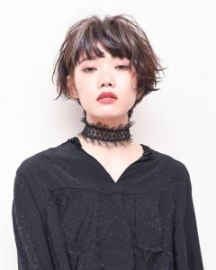 エッジィショート|Chlori 淡路店のヘアスタイル