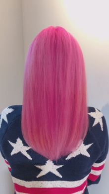 クレイジーPINK|Chlori 淡路店のヘアスタイル