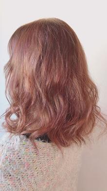 ブルーインピンク|Chlori 淡路店のヘアスタイル