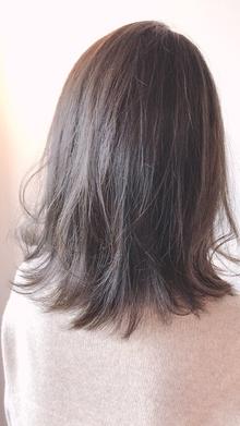 外ハネグレージュ|Chlori 淡路店のヘアスタイル