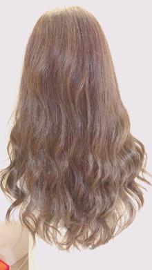 ヌーディーベージュ|Chlori 淡路店のヘアスタイル