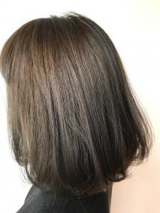 マットアッシュグレー|Chlori 淡路店のヘアスタイル