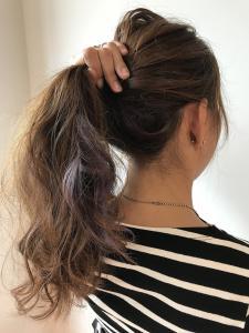 シークレットパープル|Chlori 淡路店のヘアスタイル