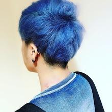 ブルーサファイヤ|Chlori 淡路店のヘアスタイル