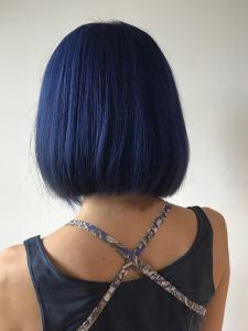 アンティークブルー|Chlori 淡路店のヘアスタイル