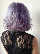 オフホワラベンダー|Chlori 淡路店のヘアスタイル