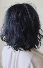 インディゴブルー|Chlori 淡路店のヘアスタイル