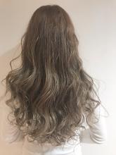 パールグレーベージュ|Chlori 淡路店のヘアスタイル