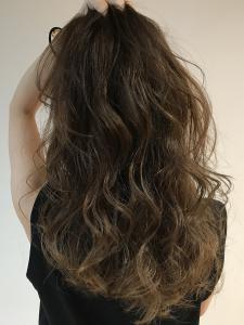 かきあげグレージュ|Chlori 淡路店のヘアスタイル