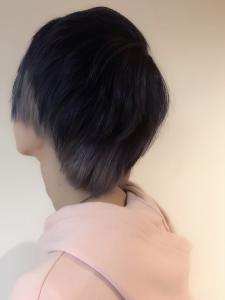 メタリックブロックカラー|Chlori 淡路店のヘアスタイル