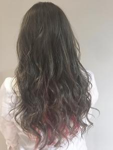 クレオ・オングレージュ|Chlori 淡路店のヘアスタイル