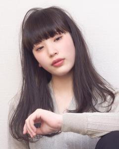 艶ロングスタイル|Chlori 淡路店のヘアスタイル