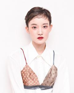 ハンサムベリーショート|Chlori 淡路店のヘアスタイル