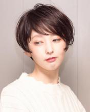 アシメショート Chlori 淡路店 中垣 彩のヘアスタイル
