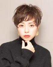 大人エレガントショート|Chlori 淡路店のヘアスタイル