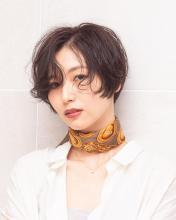 ハンサム大人ショート|Chlori 淡路店のヘアスタイル