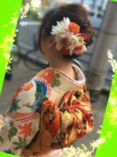 結婚式・式典時のヘアセット&ブロー☆