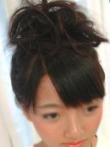 ユル☆ふわ★お団子ヘア|Hair's Cafe anのヘアスタイル