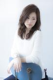 クラシカルニュアンスパーマ【透明感 暗めアッシュベージュ】