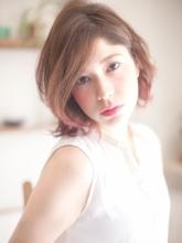 かきあげ大人ボブ|ROLA 北梅田店のヘアスタイル