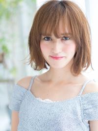 トレンドの外ハネが可愛いショートヘア☆