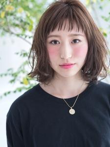 ショートバング×ゆるボブ|ROLA 北梅田店のヘアスタイル