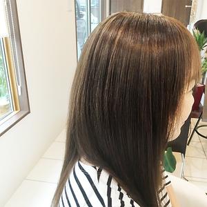 ナチュラルストレート|Hair salon Wehilaniのヘアスタイル