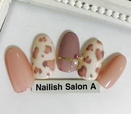 2016秋冬ネイル/レオパード|Nailish Salon Aのネイル