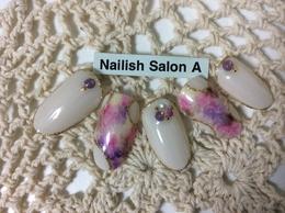 カスタムハンド2時間コース|Nailish Salon Aのネイル