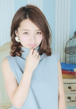 モテ女子★ふわりと揺らぐミディ|AUTRE by FUGA hair 綱島店のヘアスタイル