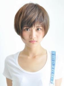 コンパクトなショートスタイル|AUTRE by FUGA hair 綱島店のヘアスタイル