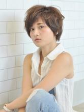 ふんわりショート|AUTRE by FUGA hair 綱島店 遠藤 晋のヘアスタイル