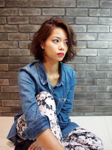 こなれ感ラフパーマボブ|GREEN Hair&Beautyのヘアスタイル