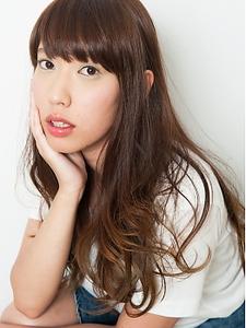 質感デザインパーマ|hair LiLiy 浅草橋店のヘアスタイル