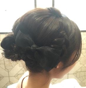 お出かけリボン|hair LiLiy 浅草橋店のヘアスタイル
