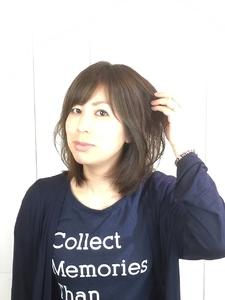 ふんわりミディー|hair LiLiy 浅草橋店のヘアスタイル