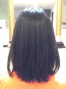 ナチュラルストレート|hair LiLiy 浅草橋店のヘアスタイル