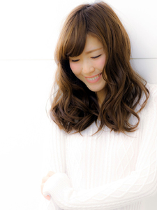 ゆるふわフェミニン|hair LiLiy 浅草橋店のヘアスタイル