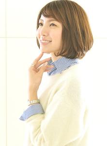 コンサバ☆ショートボブ|hair LiLiy 浅草橋店のヘアスタイル