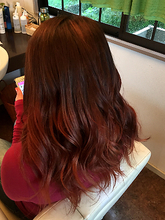 ガーリー×ロング|Hair Design BROWN SUGARのヘアスタイル