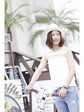 夏のビーチにピッタリなエアリーボブ☆|cozy resort by ANT'Sのヘアスタイル