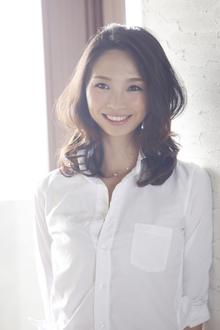 外国人風 透け感ミディアム|ANT'S Southern-Resort 茅ヶ崎店のヘアスタイル