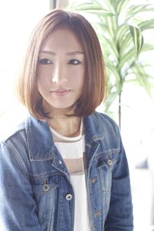 シンプルなのに印象的☆女子力高いナチュラルボブ☆|ANT'S Southern-Resort 茅ヶ崎店のヘアスタイル