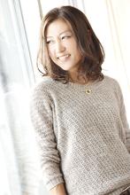 大人可愛い☆ラフなミディアム|ANT'S Southern-Resort 茅ヶ崎店 倉内 裕太のヘアスタイル