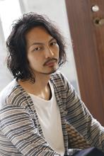 無造作ミディアム|ANT'S Southern-Resort 茅ヶ崎店のメンズヘアスタイル