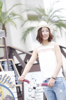 夏のビーチにピッタリなエアリーボブ☆|ANT'S Southern-Resort 茅ヶ崎店のヘアスタイル